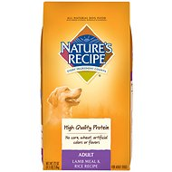 Nature's Recipe Adult Lamb Meal & Rice Recipe Dry Dog Food, 4.5-lb bag