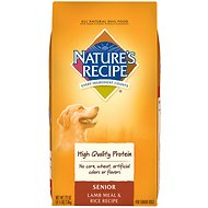 Nature's Recipe Senior Lamb Meal & Rice Recipe Dry Dog Food, 4.5-lb bag
