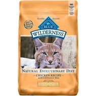 Blue Buffalo Wilderness Weight Control Chicken Recipe Grain-Free Dry Cat Food, 11-lb bag