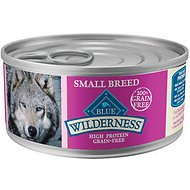 Blue Buffalo Wilderness Small Breed Turkey & Chicken Grill Grain-Free Canned Dog Food, 5.5-oz, case of 24