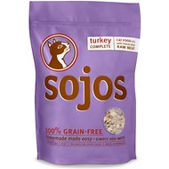 Sojos Complete Turkey Grain-Free Freeze-Dried Raw Cat Food, 4-lb bag