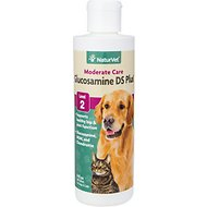 NaturVet Glucosamine DS with MSM & Chondroitin Hip & Joint Stage 2 Formula Dog & Cat Liquid Supplement, 8-oz bottle