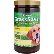 NaturVet GrassSaver Wafers Plus Enzymes Dog Supplement, 300 count
