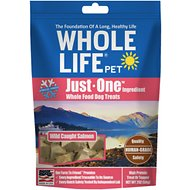 Whole Life Pure Salmon Freeze-Dried Dog Treats, 2-oz bag