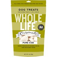 Whole Life Pure Cod Freeze-Dried Dog Treats, 2-oz bag