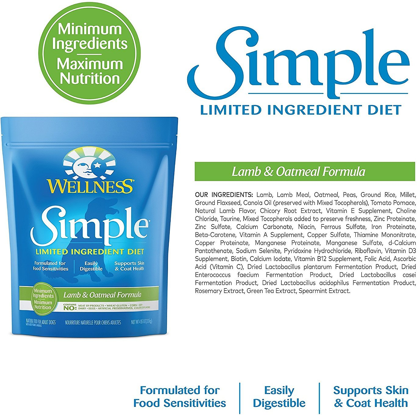 Wellness Limited Ingredient Dog Food Reviews