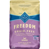 Blue Buffalo Freedom Indoor Adult Chicken Recipe Grain-Free Dry Cat Food, 11-lb bag