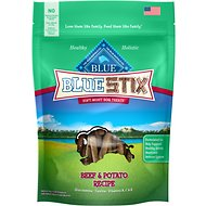 Blue Buffalo Blue Stix Beef & Potato Recipe Dog Treats, 6-oz bag