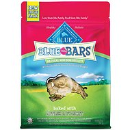 Blue Buffalo Blue Mini Bars Value Size Apples & Yogurt Natural Biscuits Dog Treats, 20-oz bag