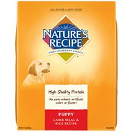 Nature's Recipe Puppy Lamb Meal & Rice Recipe Dry Dog Food, 15-lb bag