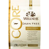 Wellness CORE Grain-Free Indoor Formula Dry Cat Food, 12-lb bag