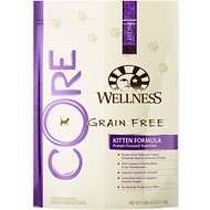 Wellness CORE Grain-Free Kitten Formula Dry Cat Food, 5-lb bag