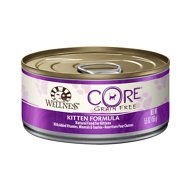 Wellness CORE Grain-Free Kitten Formula Canned Cat Food, 5.5-oz, case of 24