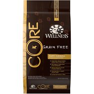 Wellness CORE Grain-Free Puppy Formula Dry Dog Food, 26-lb bag
