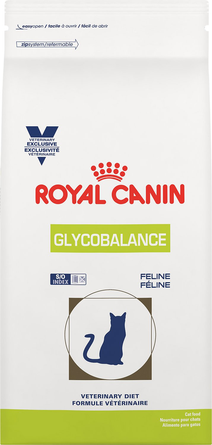royal canin veterinary diet glycobalance s o index dry cat food 4 4 lb bag. Black Bedroom Furniture Sets. Home Design Ideas