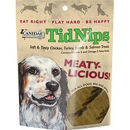Canidae TidNips Meaty-Licious Chicken, Turkey, Lamb & Salmon Soft Dog Treats, 6-oz bag