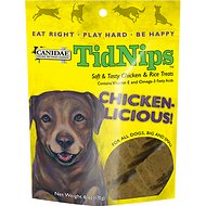 Canidae TidNips Chicken-Licious Chicken & Rice Soft Dog Treats, 6-oz bag