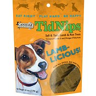 Canidae TidNips Lamb-Licious Lamb & Rice Soft Dog Treats, 6-oz bag