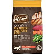 Merrick Grain-Free Real Chicken + Sweet Potato Recipe Dry Dog Food, 25-lb bag