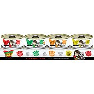 BFF Variety Pack Grain-Free Canned Cat Food, 5.5-oz, tray of 8