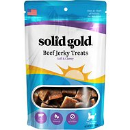Solid Gold Beef Jerky Formula Dog Treats, 10-oz bag