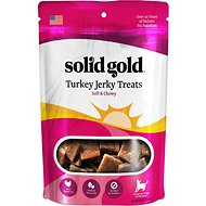 Solid Gold Turkey Jerky Formula Dog Treats, 10-oz bag