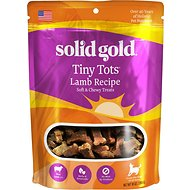 Solid Gold Tiny Tots Lamb Jerky Dog Treats, 10-oz bag