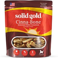 Solid Gold Cinna-Bone Holistic Biscuits Dog Treats, 2.5-lb bag