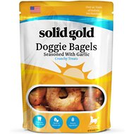 Solid Gold Garlic Doggie Bagels Dog Treats, 14.4-oz bag