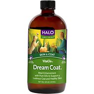 Halo VitaGlo Dream Coat  Dog & Cat Supplement, 16-oz bottle