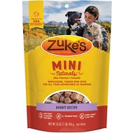 Zuke's Mini Naturals Wild Rabbit Recipe Dog Treats, 1-lb bag
