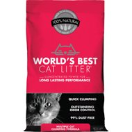 World's Best Cat Litter Scoopable Multiple Cat Clumping Formula, 14-lb bag