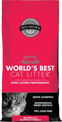 World S Best Cat Litter Scoopable Multiple Cat Clumping