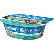 Natural Balance Delectable Delights Life's a Beach Pate Wet Cat Food, 2.5-oz tubs, case of 12