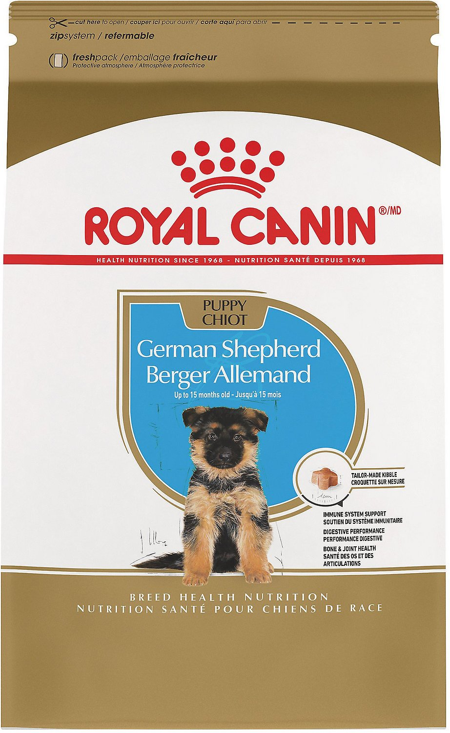 royal canin german shepherd dog food royal canin german shepherd puppy dry dog food 30 lb bag 8735