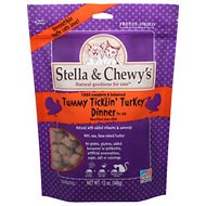 Stella & Chewy's Tummy Ticklin' Turkey Grain-Free Freeze-Dried Dinner Cat Food, 12-oz bag