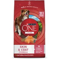 Purina ONE SmartBlend Sensitive Systems Formula Adult Premium Dry Dog Food, 31.1-lb bag