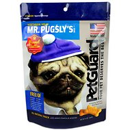 PetGuard Mr. Pugsly's Peanut Butter Biscuits Dog Treats, 12-oz bag