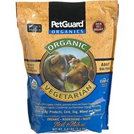 PetGuard Organic Vegetarian Adult Dry Dog Food, 4.4-lb bag