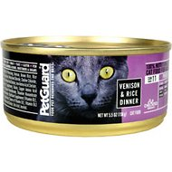 PetGuard Venison & Rice Dinner Canned Cat Food, 5.5-oz, case of 24