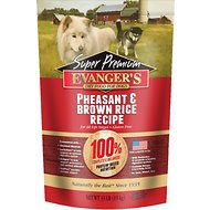Evanger's Super Premium Pheasant & Brown Rice Formula Dry Dog Food, 33-lb bag