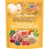 Evanger's Super Premium Chicken with Brown Rice Formula Dry Dog Food, 16.5-lb bag