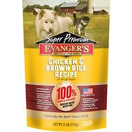 Evanger's Super Premium Chicken with Brown Rice Formula Dry Dog Food, 33-lb bag
