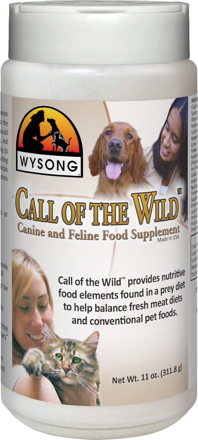 Wysong Call Of The Wild Dog Cat Food Supplement 11 Oz Bottle