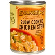 Evanger's Signature Series Slow Cooked Chicken Stew Grain-Free Canned Dog Food, 12-oz, case of 12