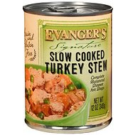 Evanger's Signature Series Slow Cooked Turkey Stew Canned Dog Food, 12-oz, case of 12