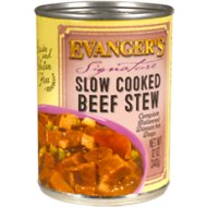 Evanger's Signature Series Slow Cooked Beef Stew Grain-Free Canned Dog Food, 12-oz, case of 12