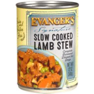 Evanger's Signature Series Slow Cooked Lamb Stew Grain-Free Canned Dog Food, 12-oz, case of 12
