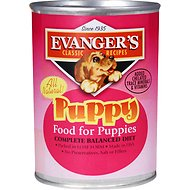 Evanger's Classic Recipes Puppy Canned Dog Food, 12.8-oz, case of 12