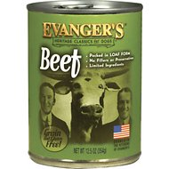 Evanger's Classic Recipes Beef Grain-Free Canned Dog Food, 12.8-oz, case of 12